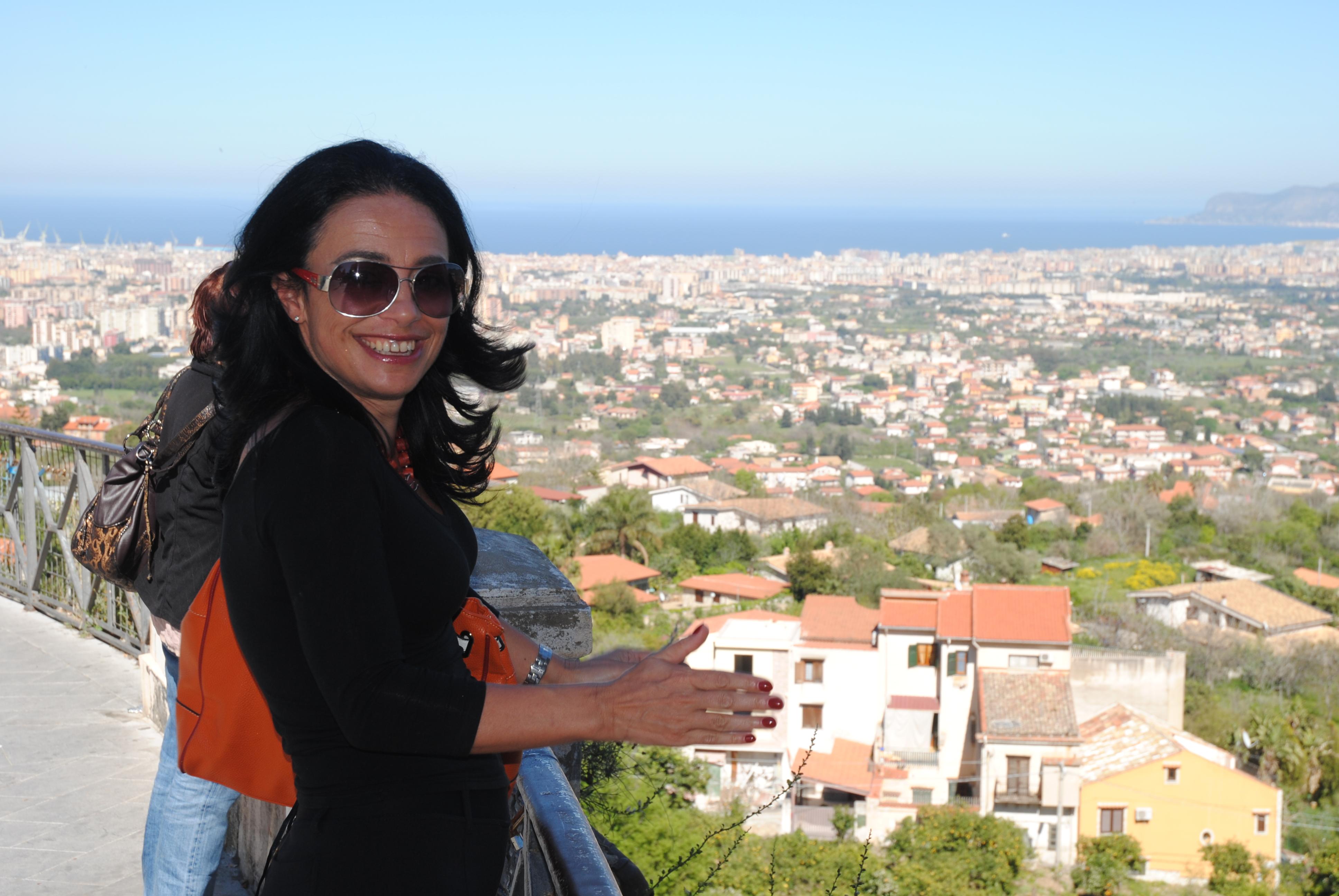 Palermo na mojej dłoni - widok z Monreale