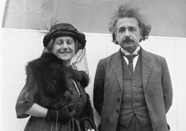 Elza i Albert Einstein