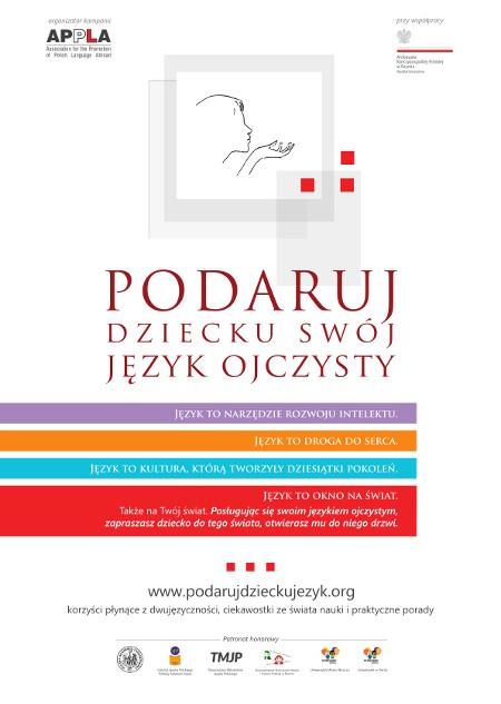 plakat_podaruj_dziecku_jezyk_polacy_we_wloszech_Rzym-online