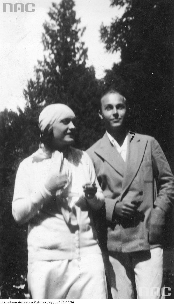 Pola Negri i Witold Conti