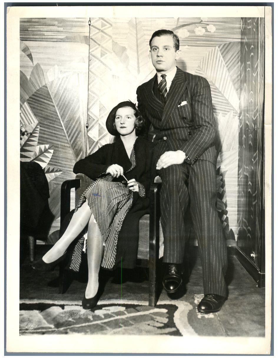 Serge Mdivani i Luise Astor