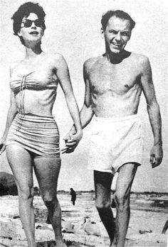 Sinatra i Ava Gardner w Portofino