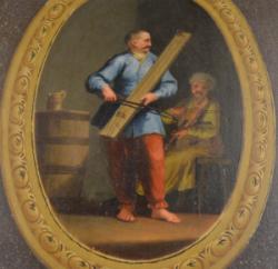 GRAJKOWIE POLSCY, T. KUNTZE, DRZWI, GALERIA BORGHESE (Fotografia pochodzi z archwium Ambasady RP)