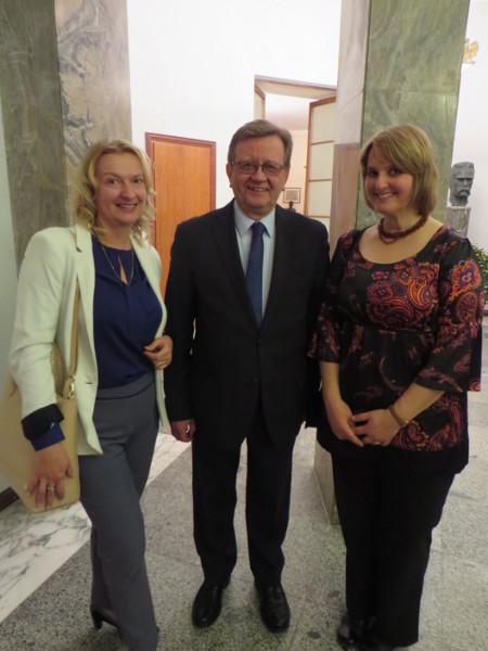 Z Konsulem Generalnym RP w Mediolanie