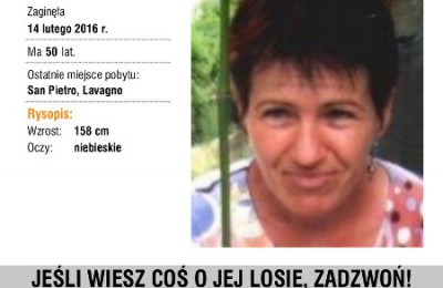 Zaginiona -- BRONISLAWA__SOPEL _polacy_we_Wloszech