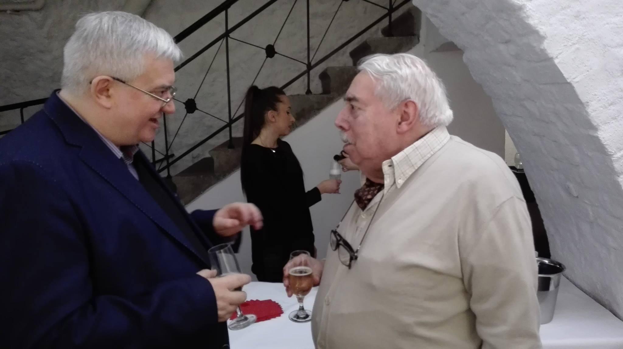 Prof Emilio Contini, foto: Anna Pankowska