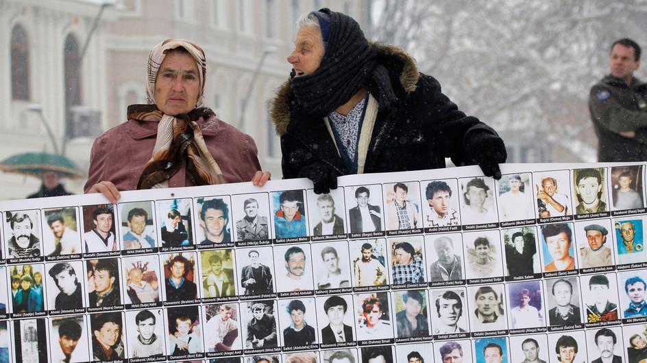 Protest kobiet w Bośni