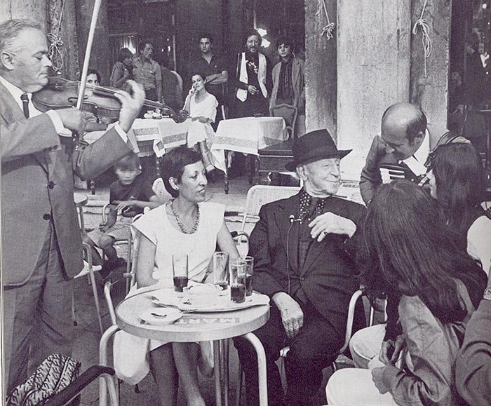 Wenecja, Cafe Florian 1957 r