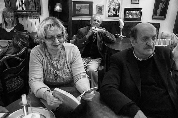 "1.Daniele Giancane, poeta i redaktor naczelny czasopisma ""La Vallisa"" i Joanna Kalinowska"