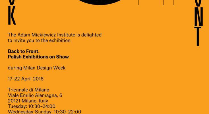Polski design w mediolanie zaproszenie na wystawy for Viale alemagna 6 milano